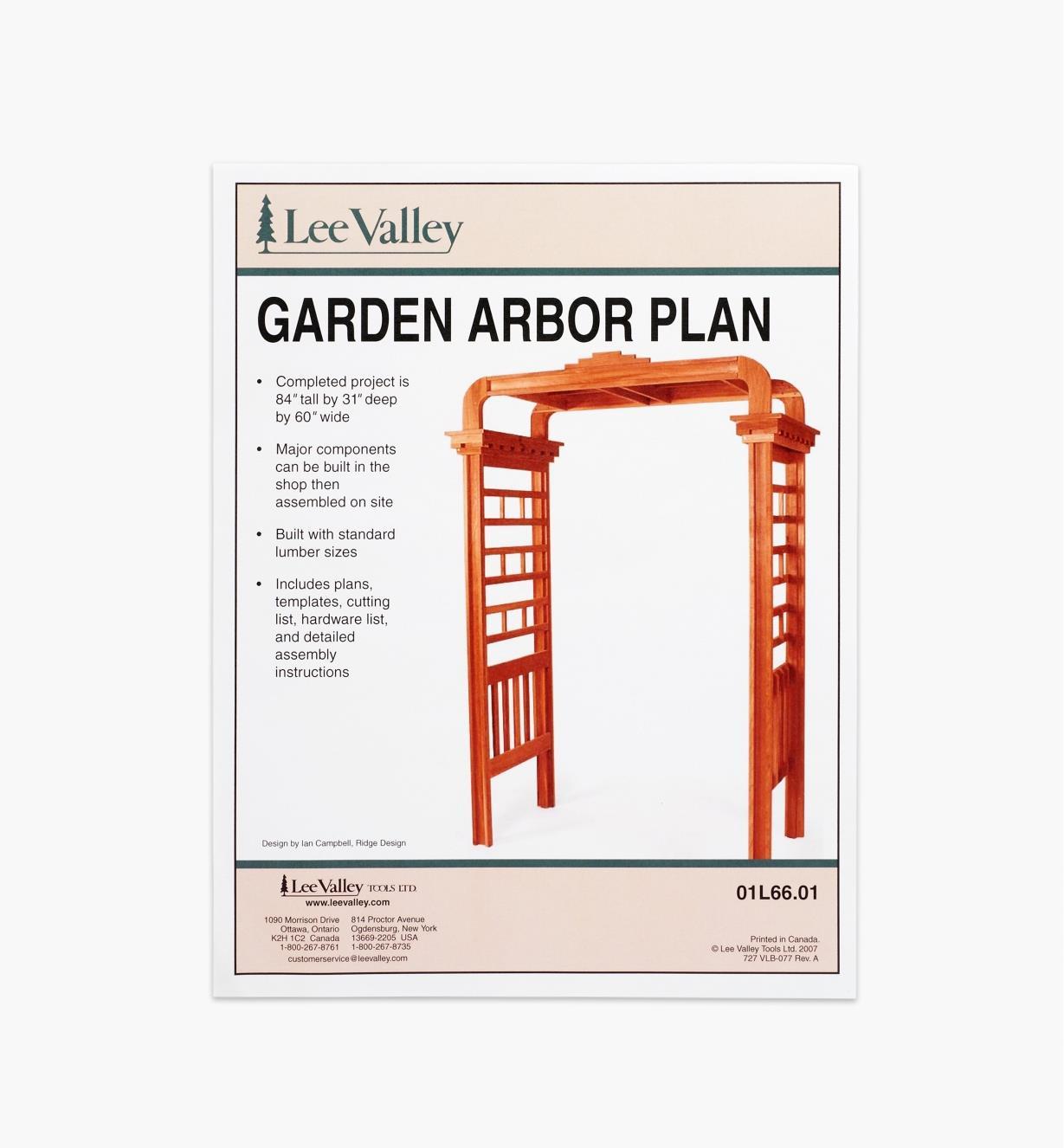 01L6601 - Arbor Plan