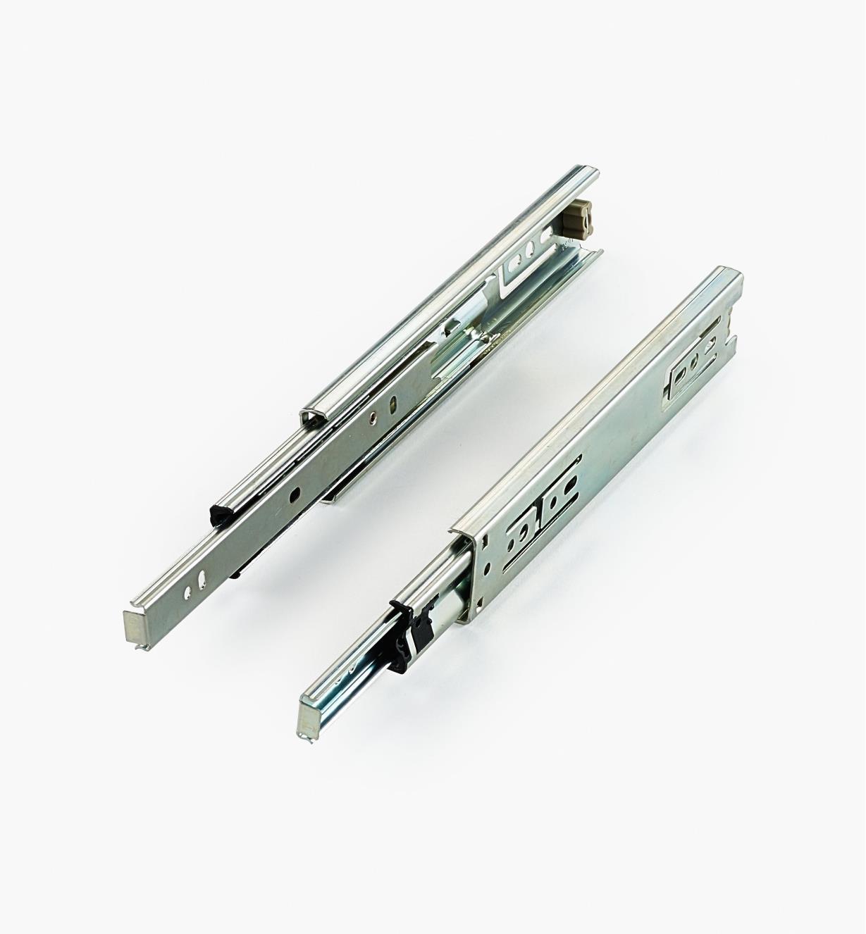 02K4208 - Coulisses de 8po à extension complète pour charge de 75lb, la paire