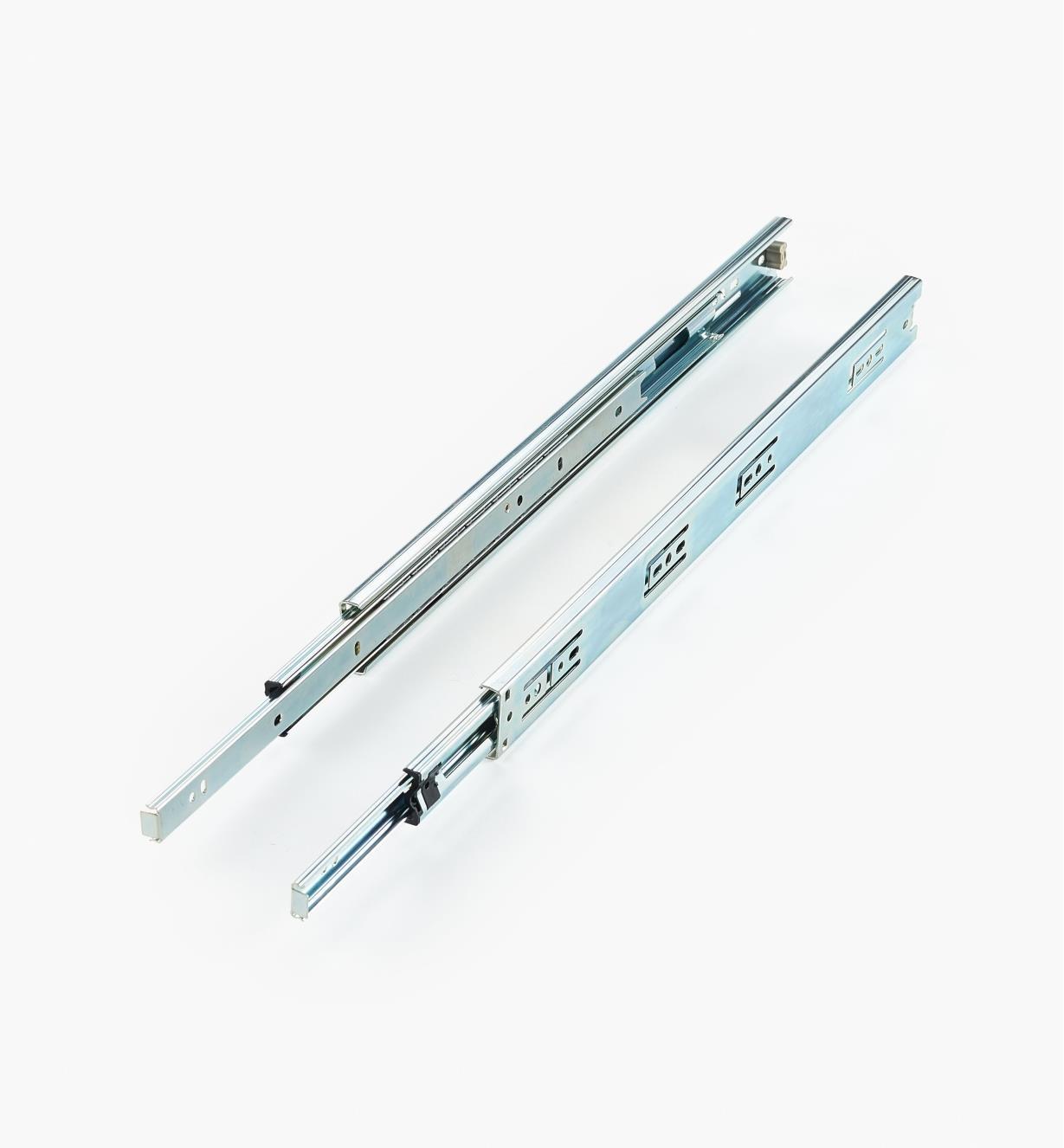 02K4218 - Coulisses de 18po à extension complète pour charge de 75lb, la paire