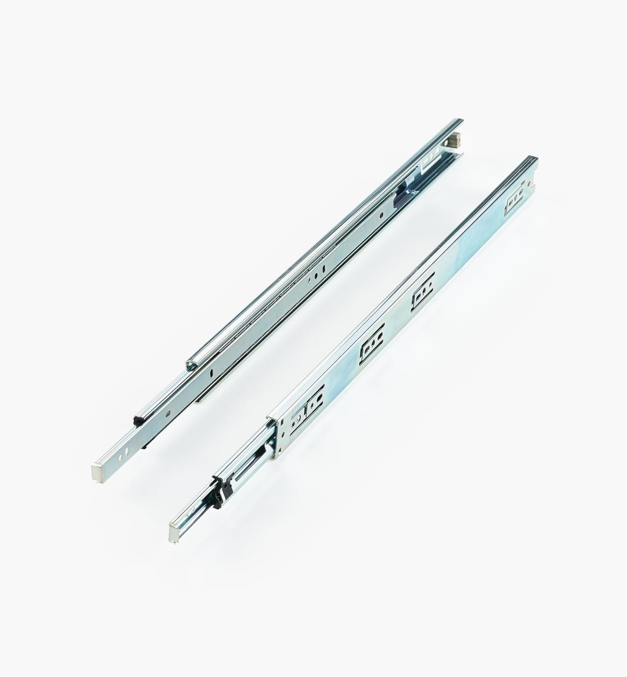 02K4220 - Coulisses de 20po à extension complète pour charge de 75lb, la paire