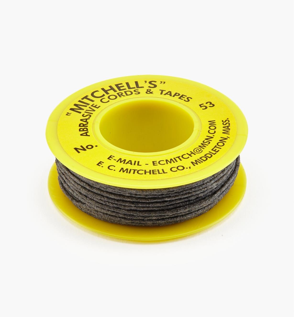 47Z0153 - Corde abrasive no53, 0,040po, de grain180