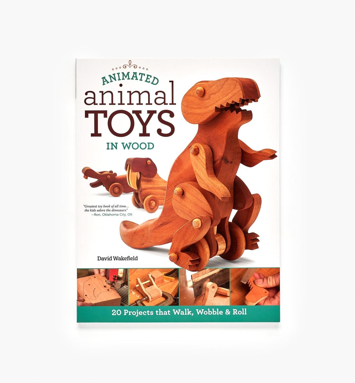 49L5098 - Animated Animal Toys in Wood