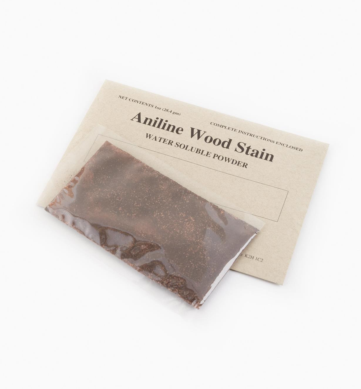 56Z0601 - Teinture d'aniline, pin doré antique