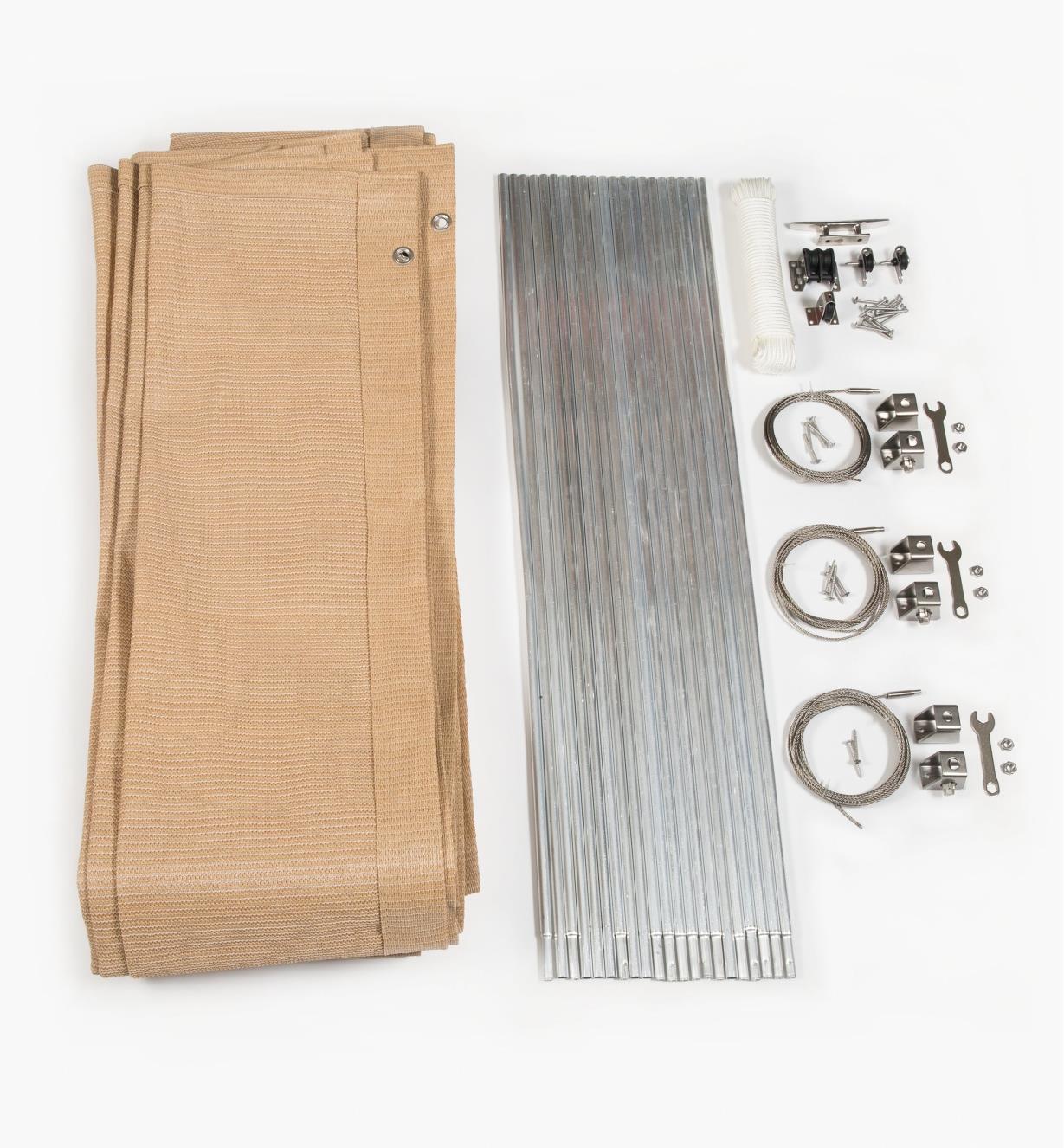 BL628 - Auvent accordéon