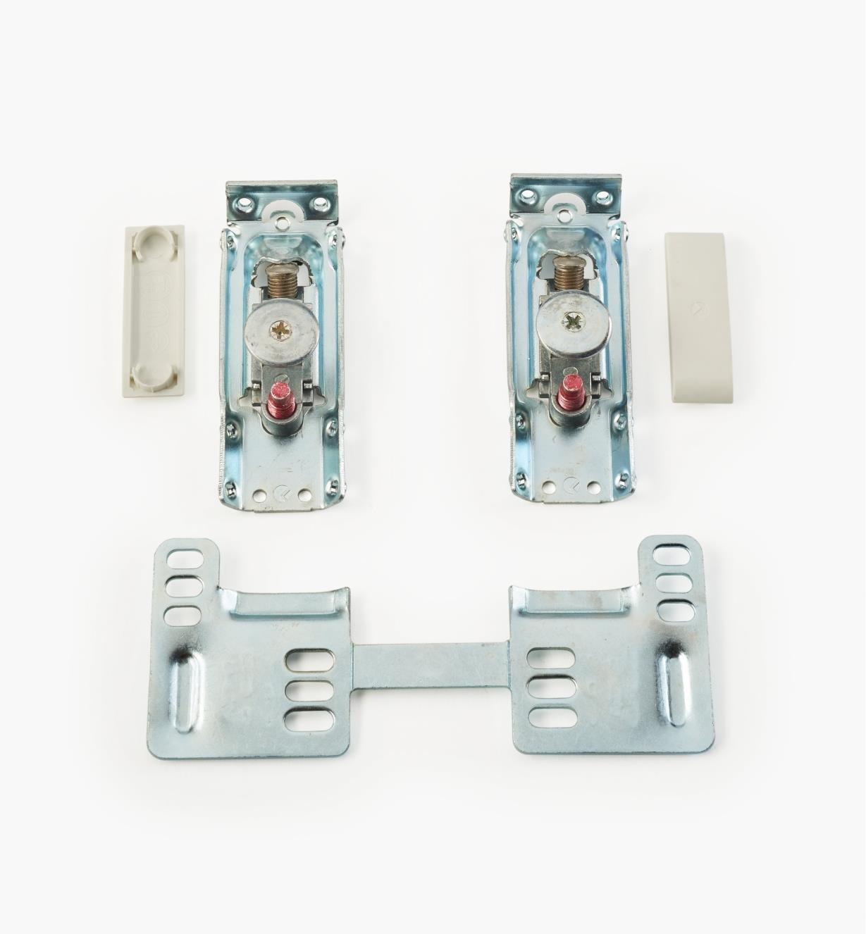 01S1945 - Ancrages muraux réglables, la paire