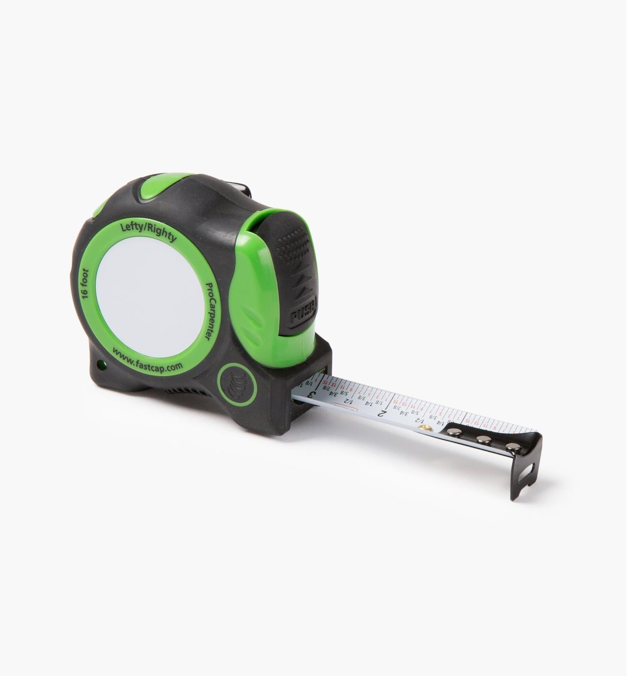 06K1141 - Righty/Lefty Auto-Lock Write-On Measuring Tape