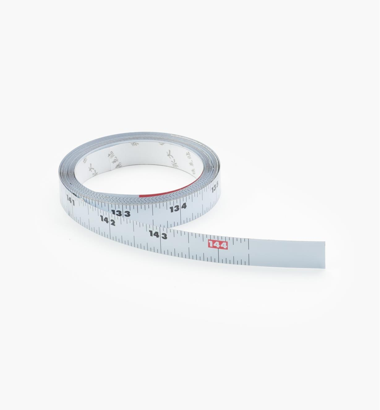 25U0240 - Center-Finding Adhesive Bench Tape, 12' x 1/2""