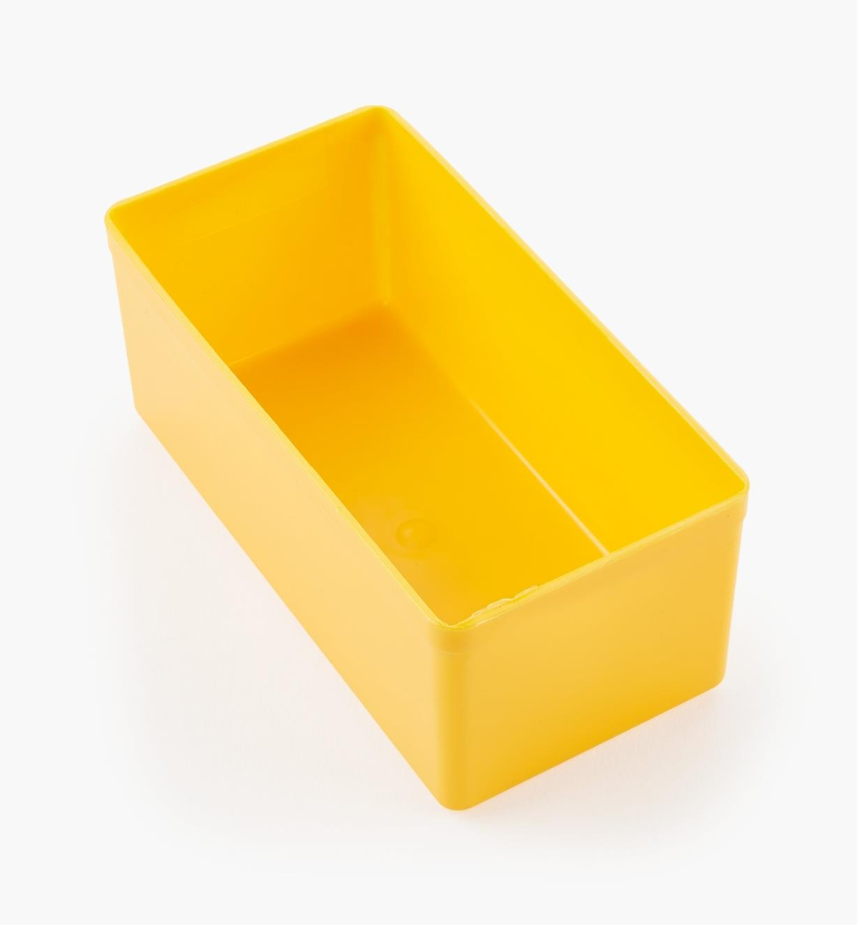 27K8012 - Godet jaune de 43 mm x 105 mm x 51 mm (1 11/16 po x 4 1/8 po x 2 po), l'unité