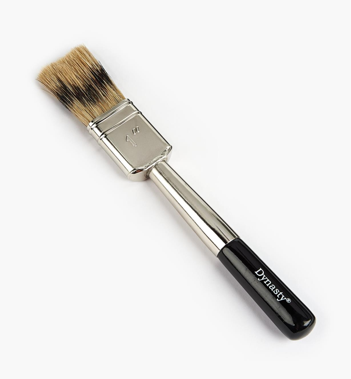 "80K6101 - 1"" Artificial Badger Double Brush"
