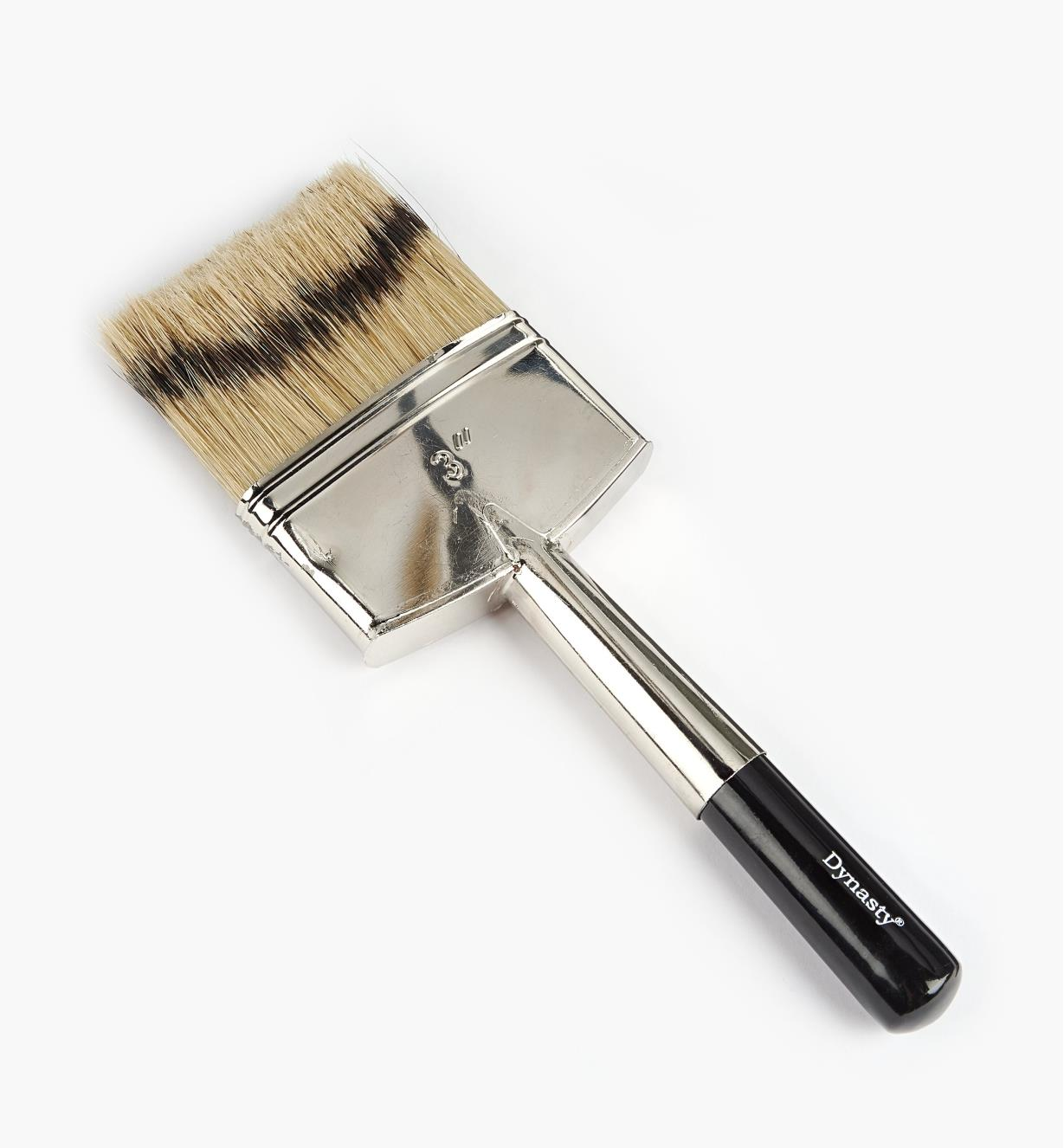 "80K6103 - 3"" Artificial Badger Double Brush"