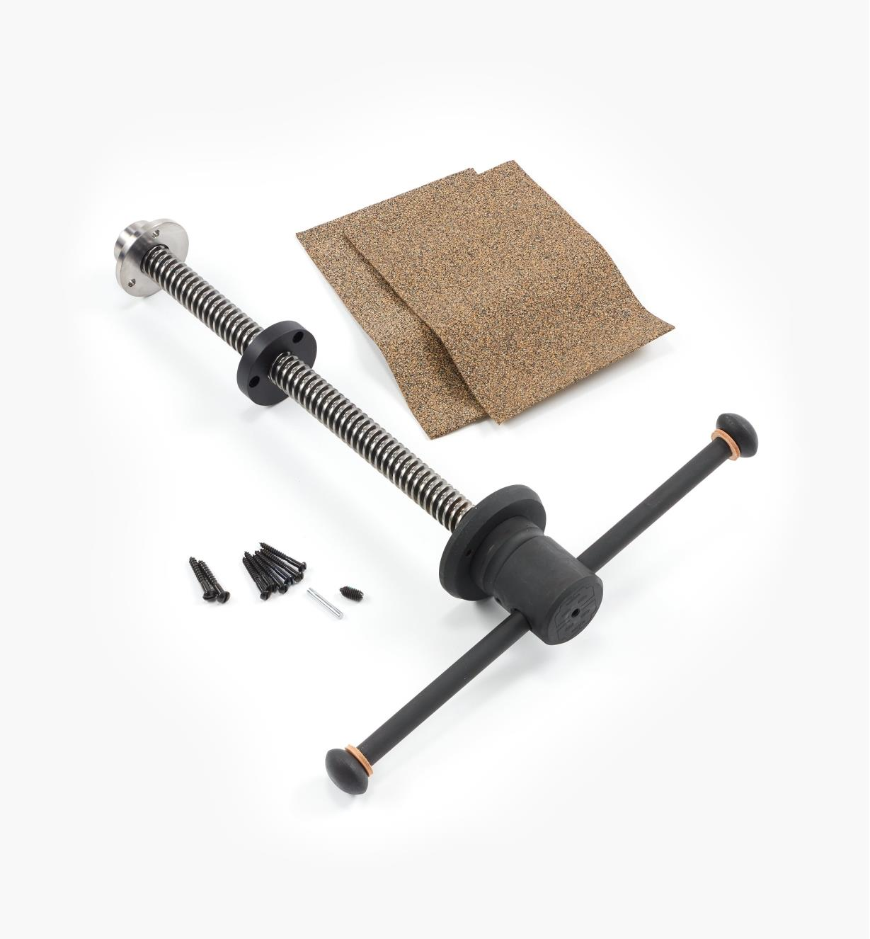06G0125 - Benchcrafted Classic Leg Vise Hardware Only (No Crisscross)