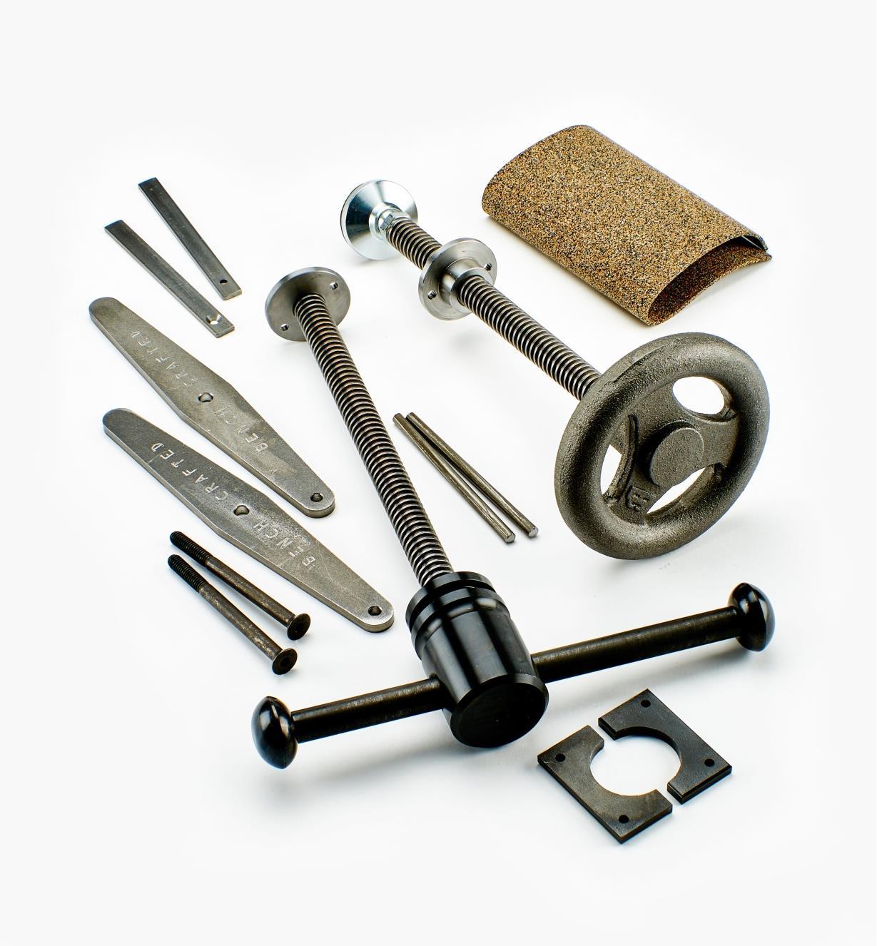 06G0147 - Composants pour presse d'établi et dispositif de fixation HiVise  Benchcrafted