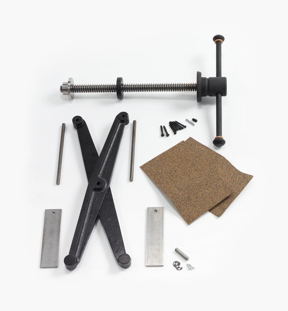 06G0160 - Ensemble Criscross Solo pour presse verticale parallèle Benchcrafted