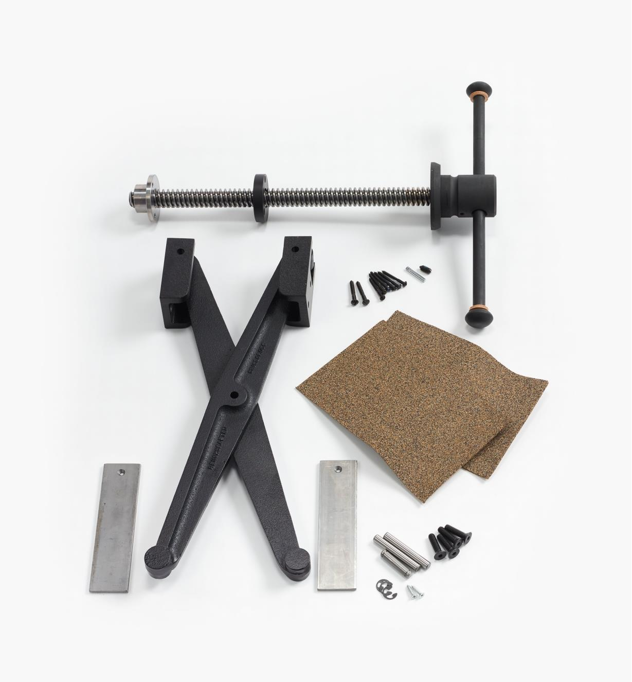 06G0162 - Ensemble Criscross Retro pour presse verticale parallèle Benchcrafted
