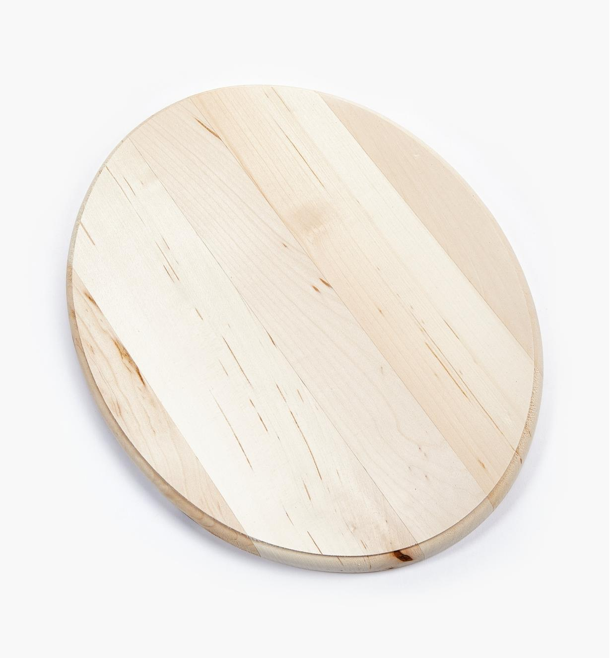 "38N1243 - 11"" x 14"" Oval Profiled-Edge Basswood Plaque, ea."