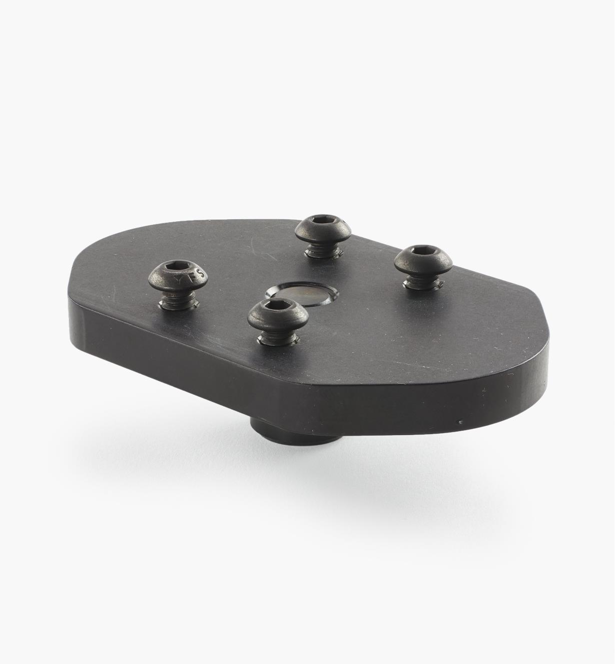 50F0103 - Plaque de fixation pour sauterelle, tige de 20 mm