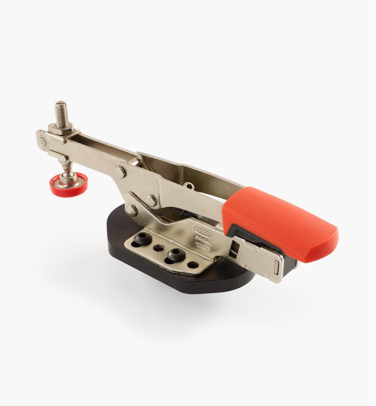 50F0121 - Sauterelle horizontale modèle bas, avec plaque de fixation, tige de 20mm