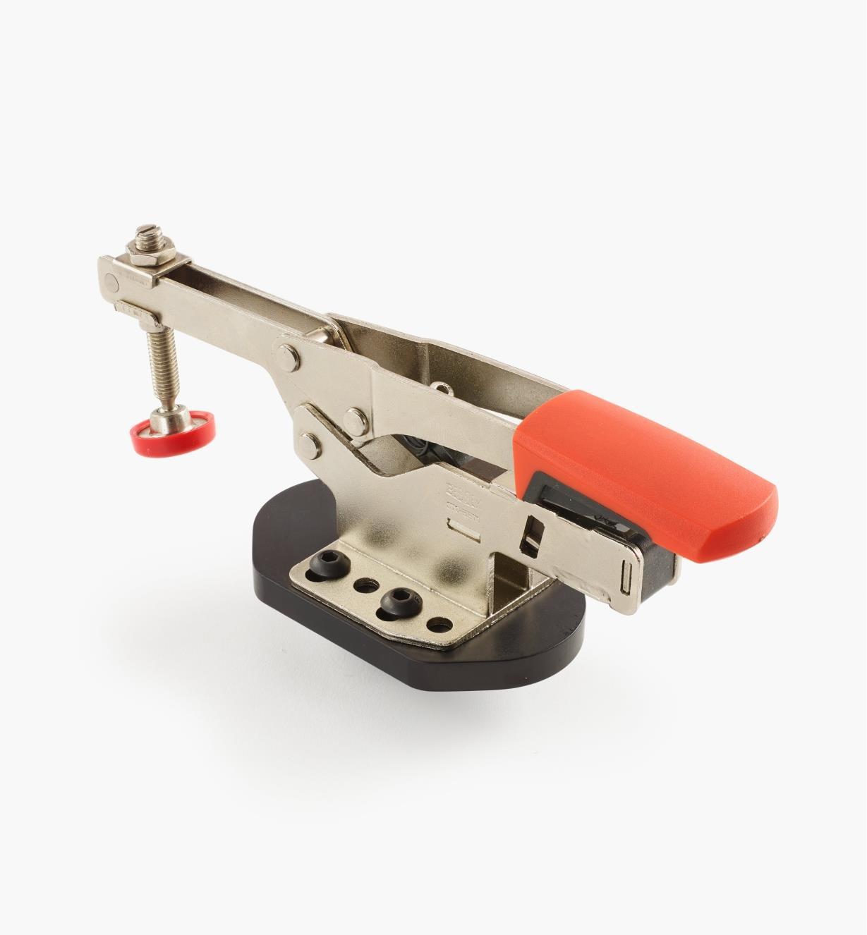 50F0122 - Sauterelle horizontale modèle haut, avec plaque de fixation, tige de 20mm