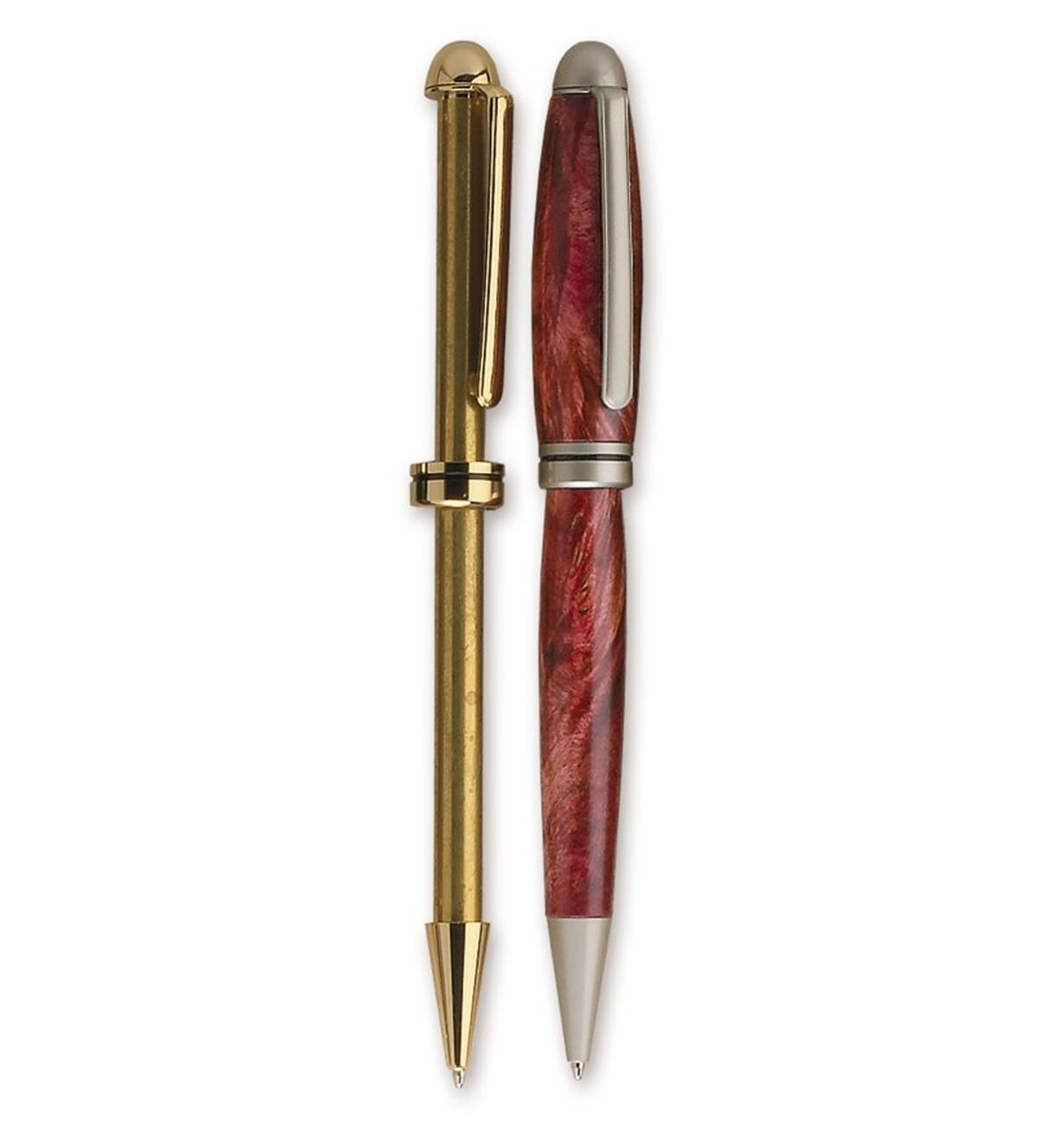 Round-Top European Pen Hardware