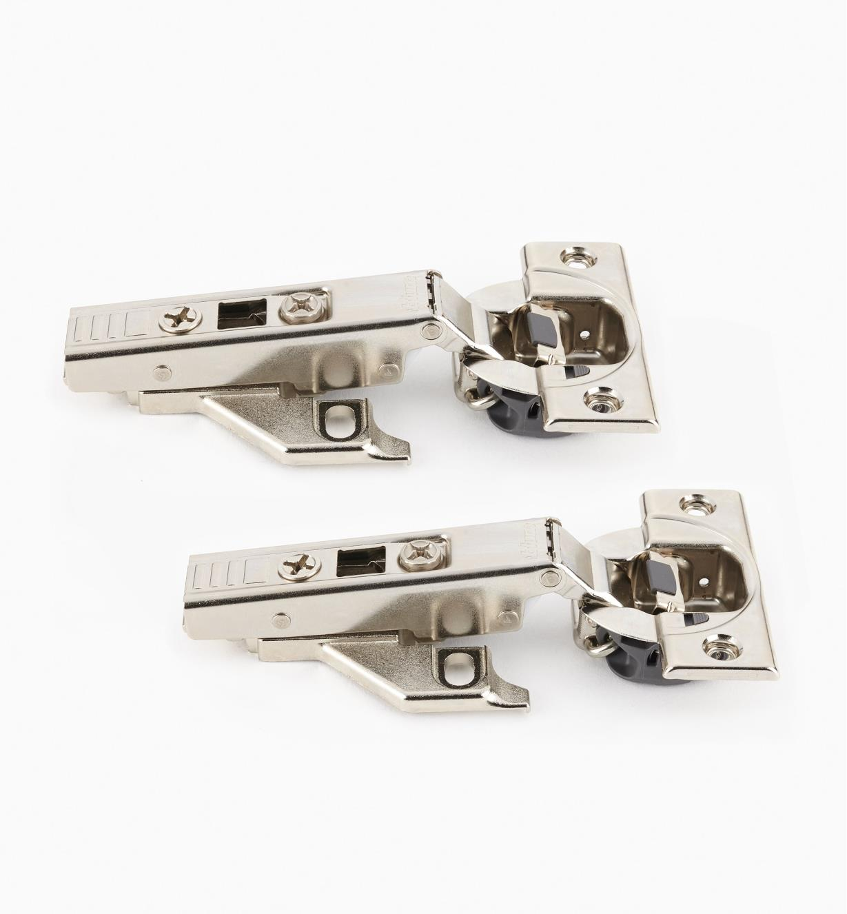 00B1811 - Blum Face-Frame 110° Soft-Close Clip-Top Overlay Hinges, pr