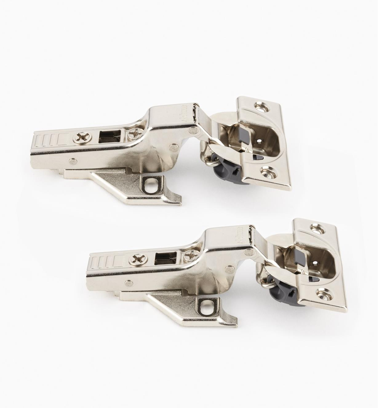 00B1812 - Blum Face-Frame 110° Soft-Close Clip-Top Half Overlay Hinges, pr