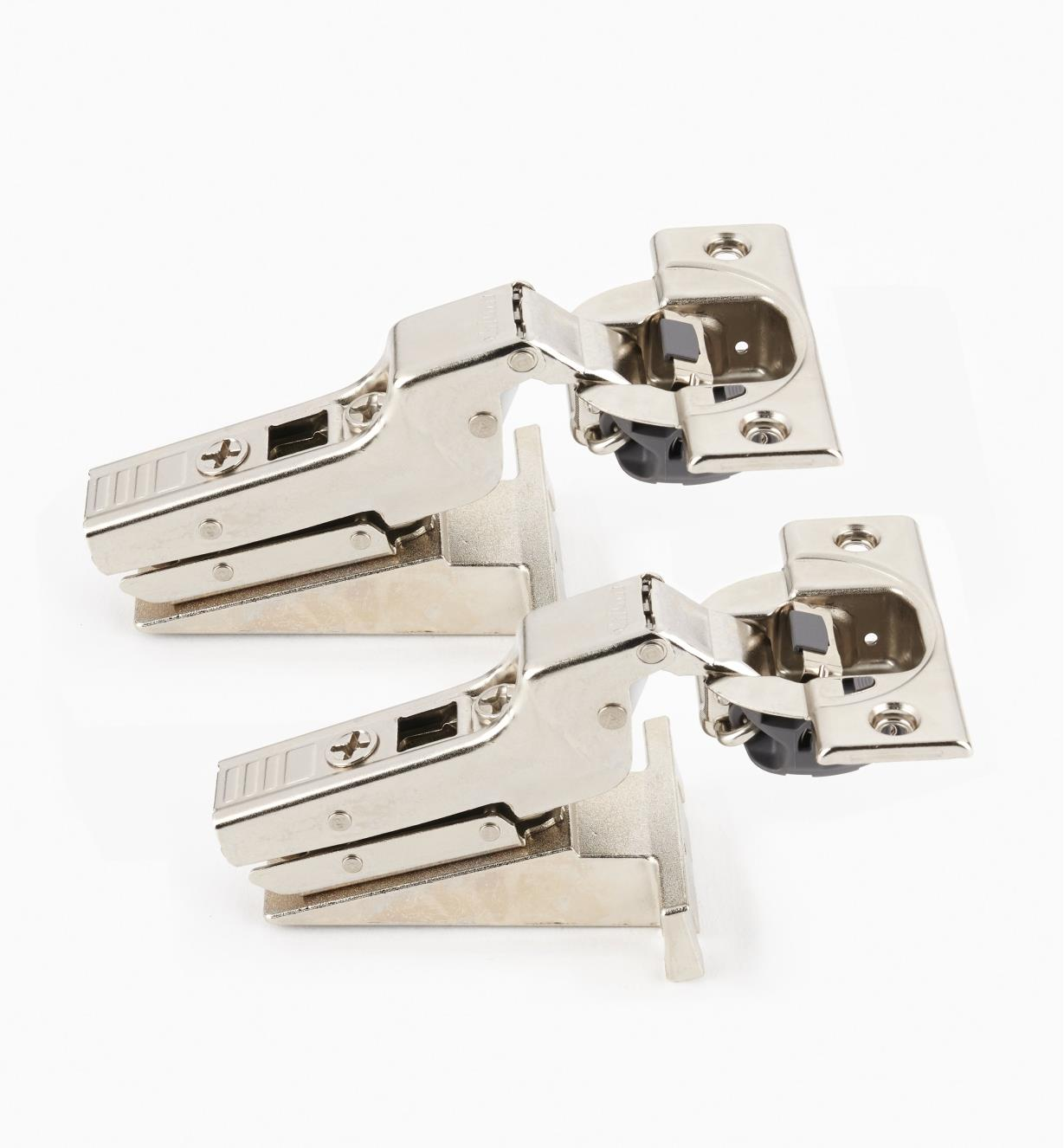 00B1813 - Blum Face-Frame 110° Soft-Close Clip-Top Inset Hinges, pr