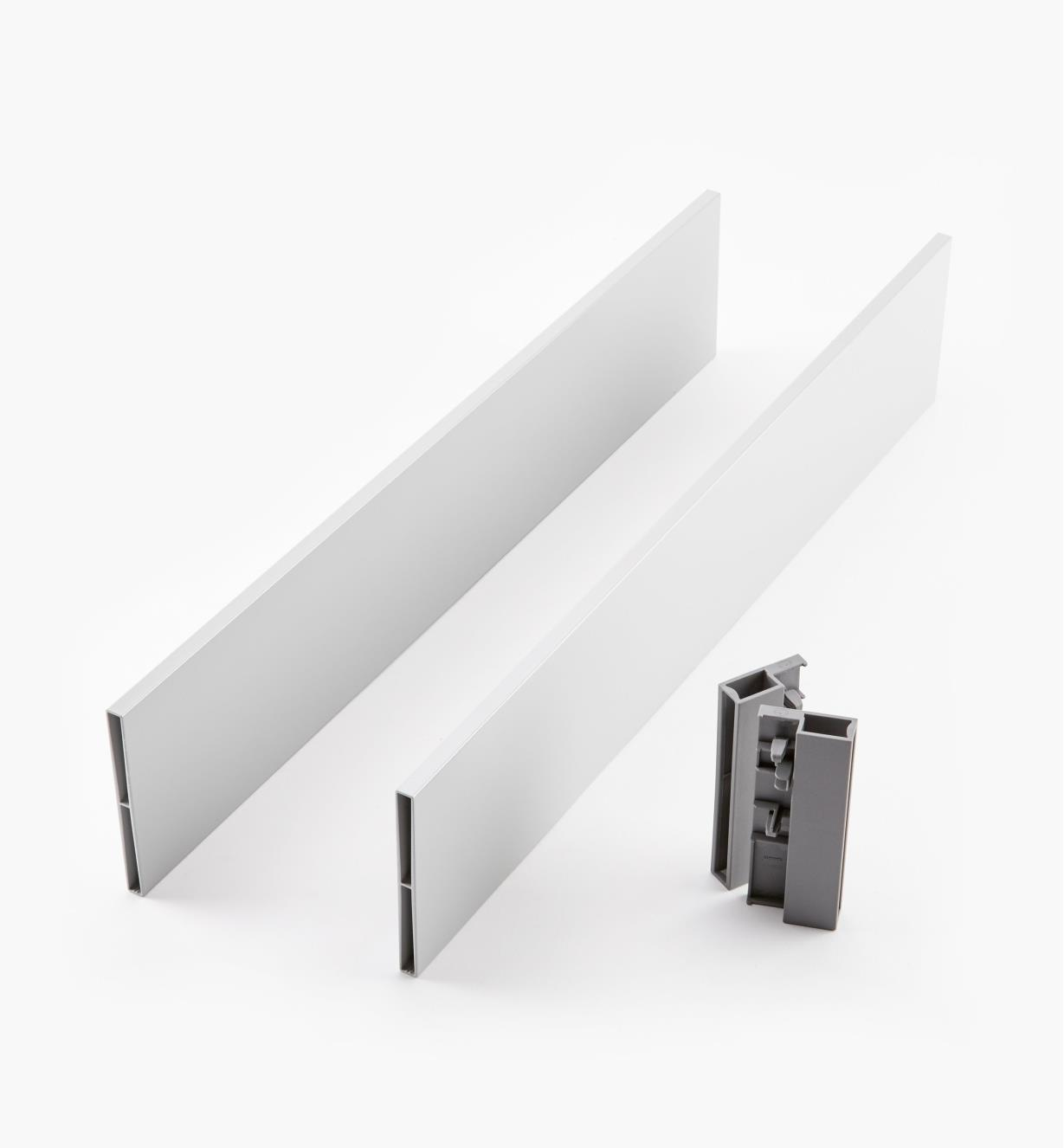 02K2852 - Steel Insert Panels for Blum Tandembox Antaro Soft-Close Type D 500mm Drawer Kit