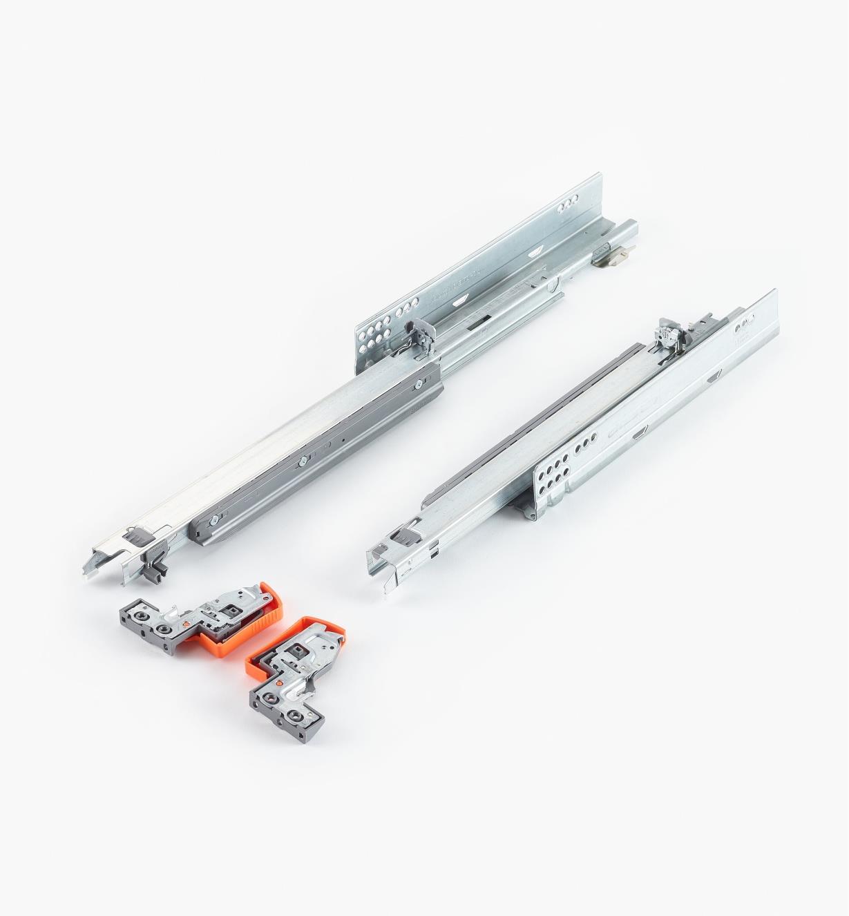 02K5435 - Coulisses Movento Blum de 350 mm (14 po), la paire