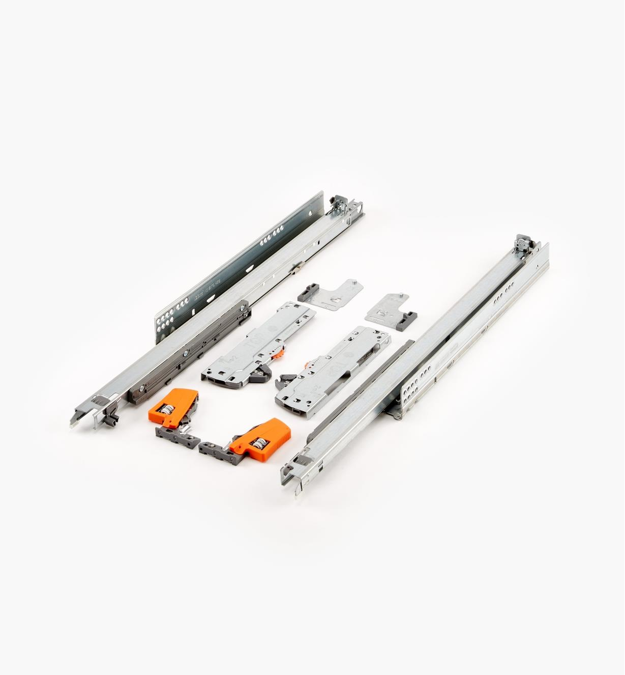 "02K5760 - Blum Tip-On Movento 600mm/24"" Drawer Slides, pr."