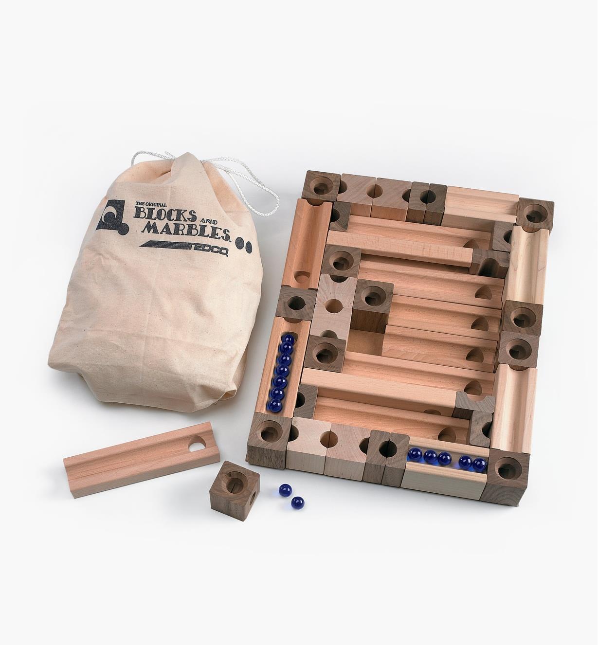 45K4012 - Blocks and Marbles Super Set