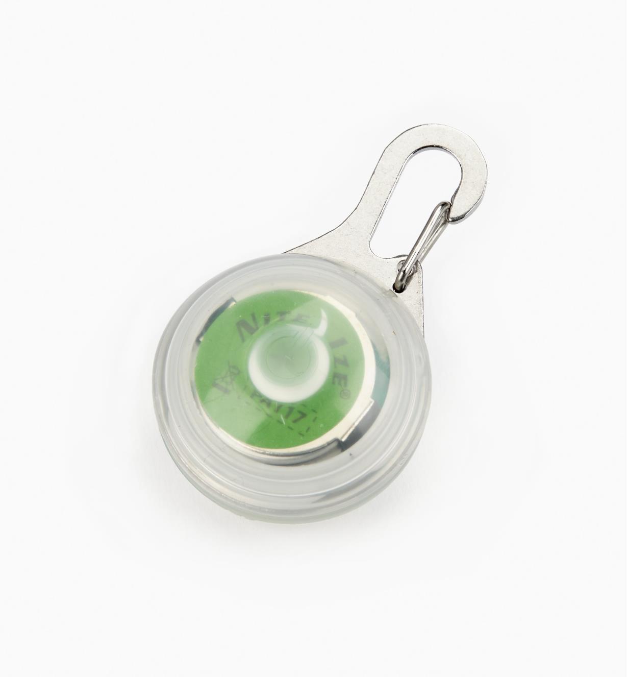 68K0673 - Lampe DEL à mousqueton, vert