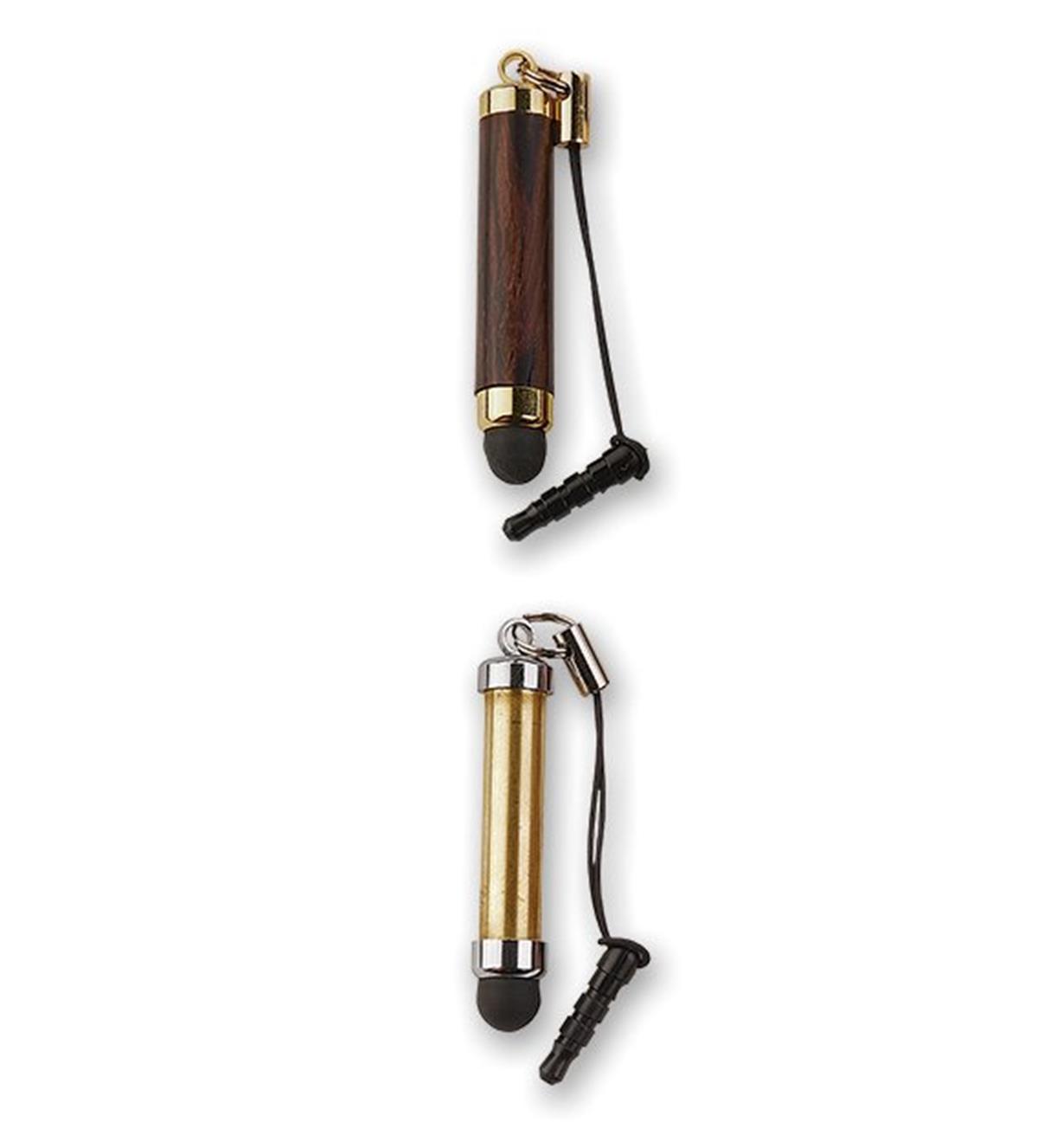 Composants pour stylet à cordon
