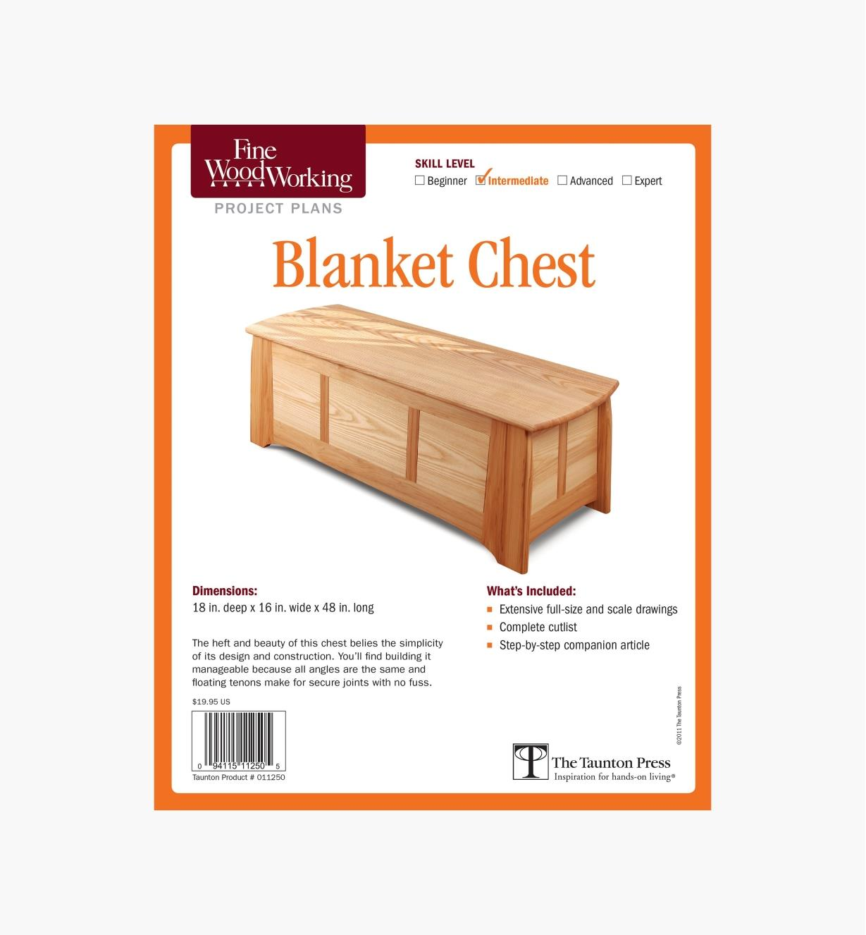 73L2507 - Blanket Chest Plan