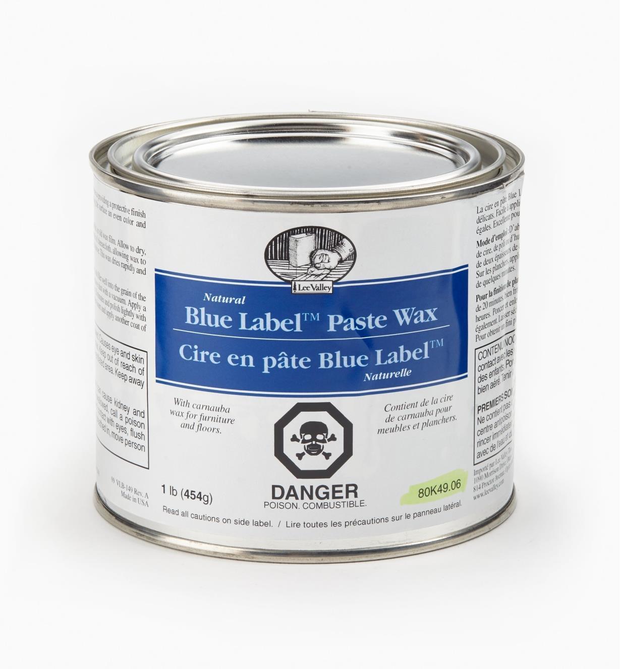 80K4906 - Paste Wax, 1 lb