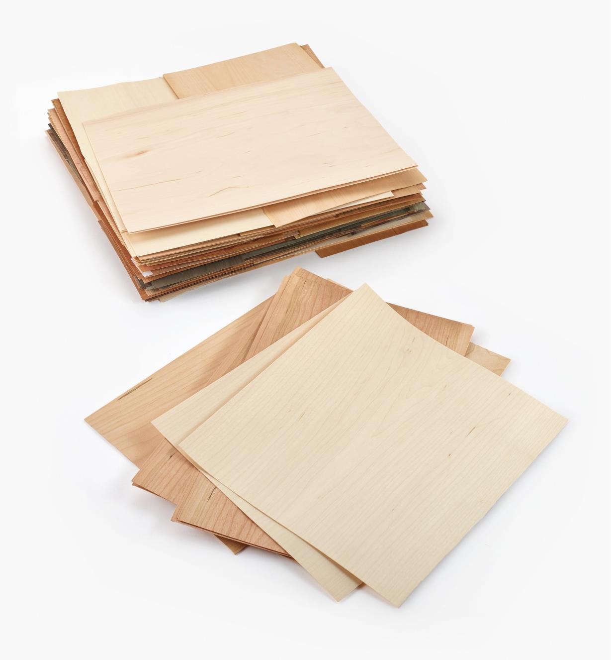 55K6601 - Boîte de bois de placage