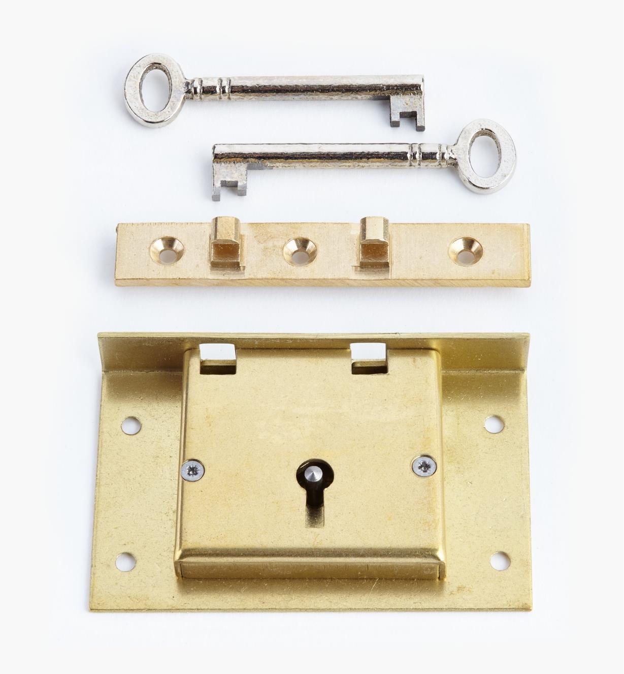 """00P2735 - 3 1/2"""" Chest Lock"""