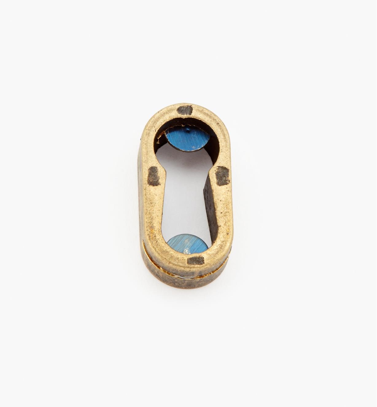 01A4809 - Ant. Brass Flush Esc.