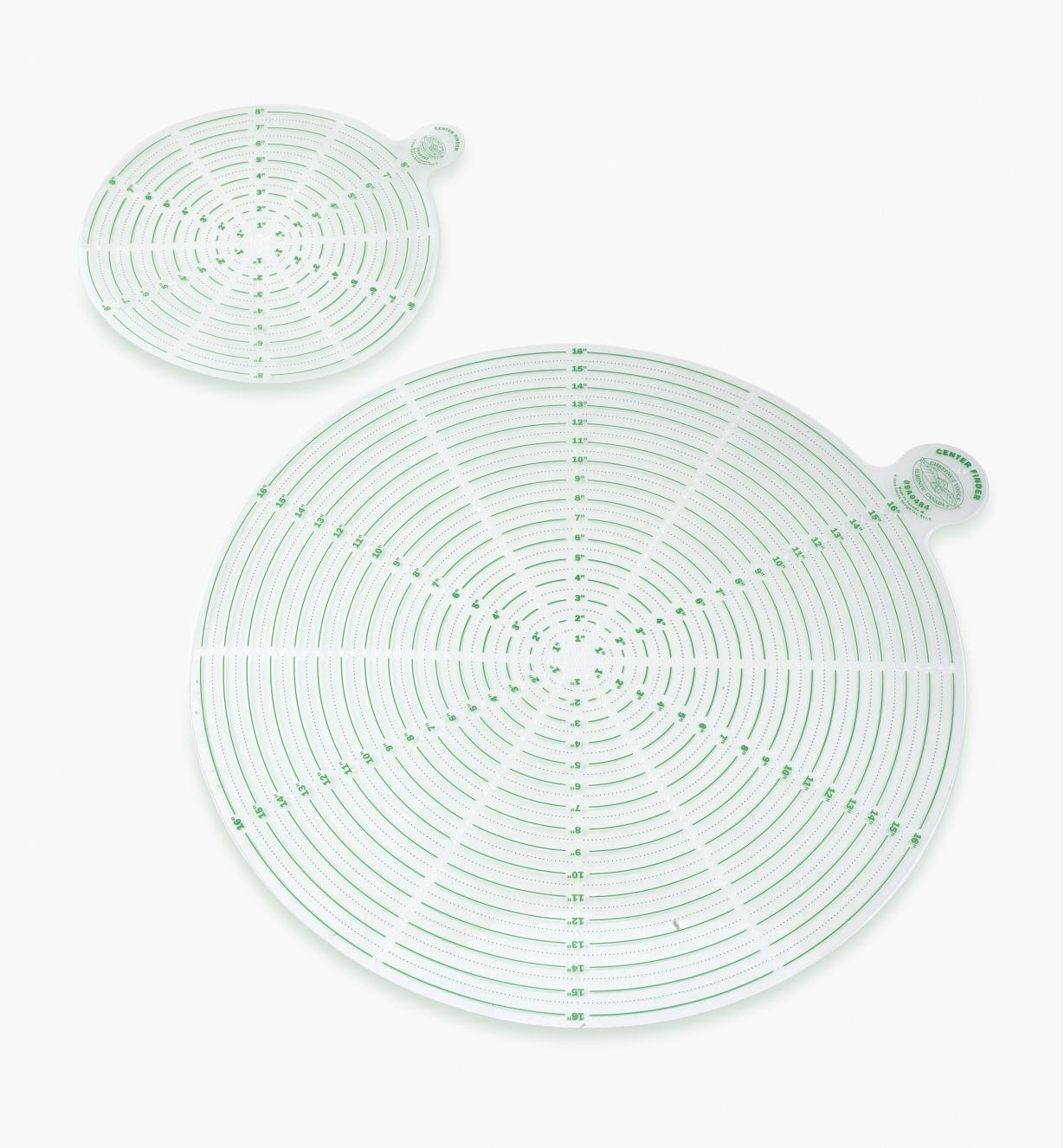 09A0489 - Center Finders, set of 2