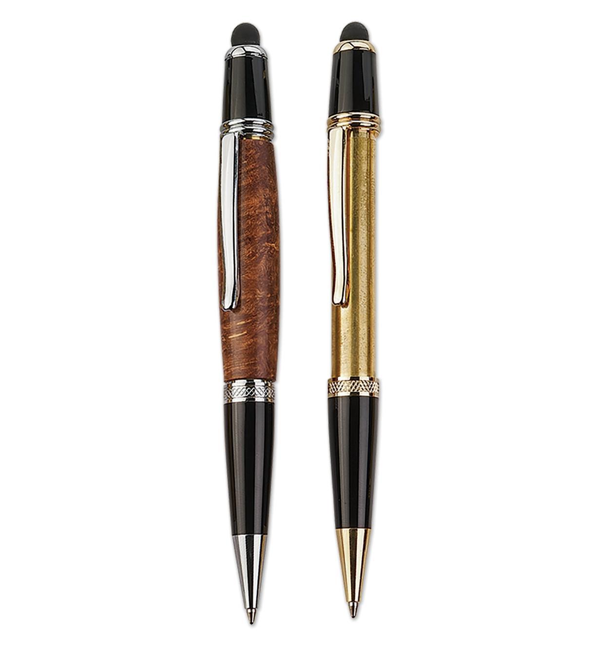 Exemple d'un stylo terminé.