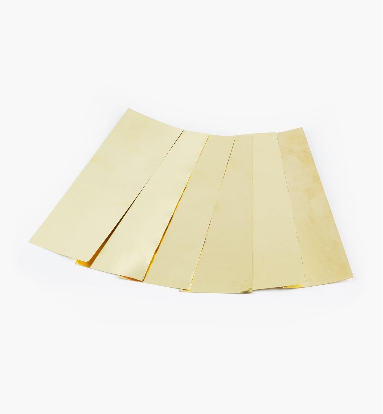 27K0750 - Brass Sampler, 6 sheets