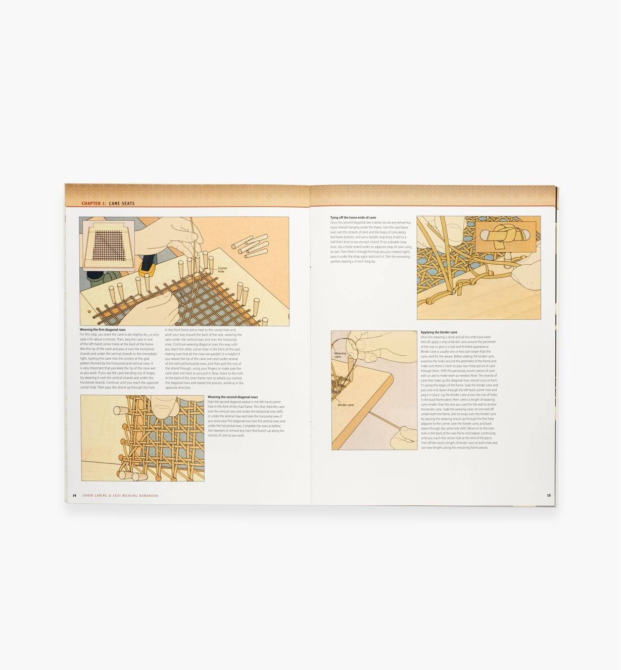 49L5086 - Chair Caning & Seat Weaving Handbook