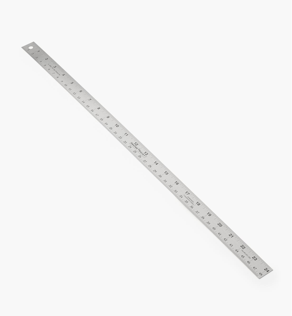 "60N4601 - 24"" Center Point Rule"
