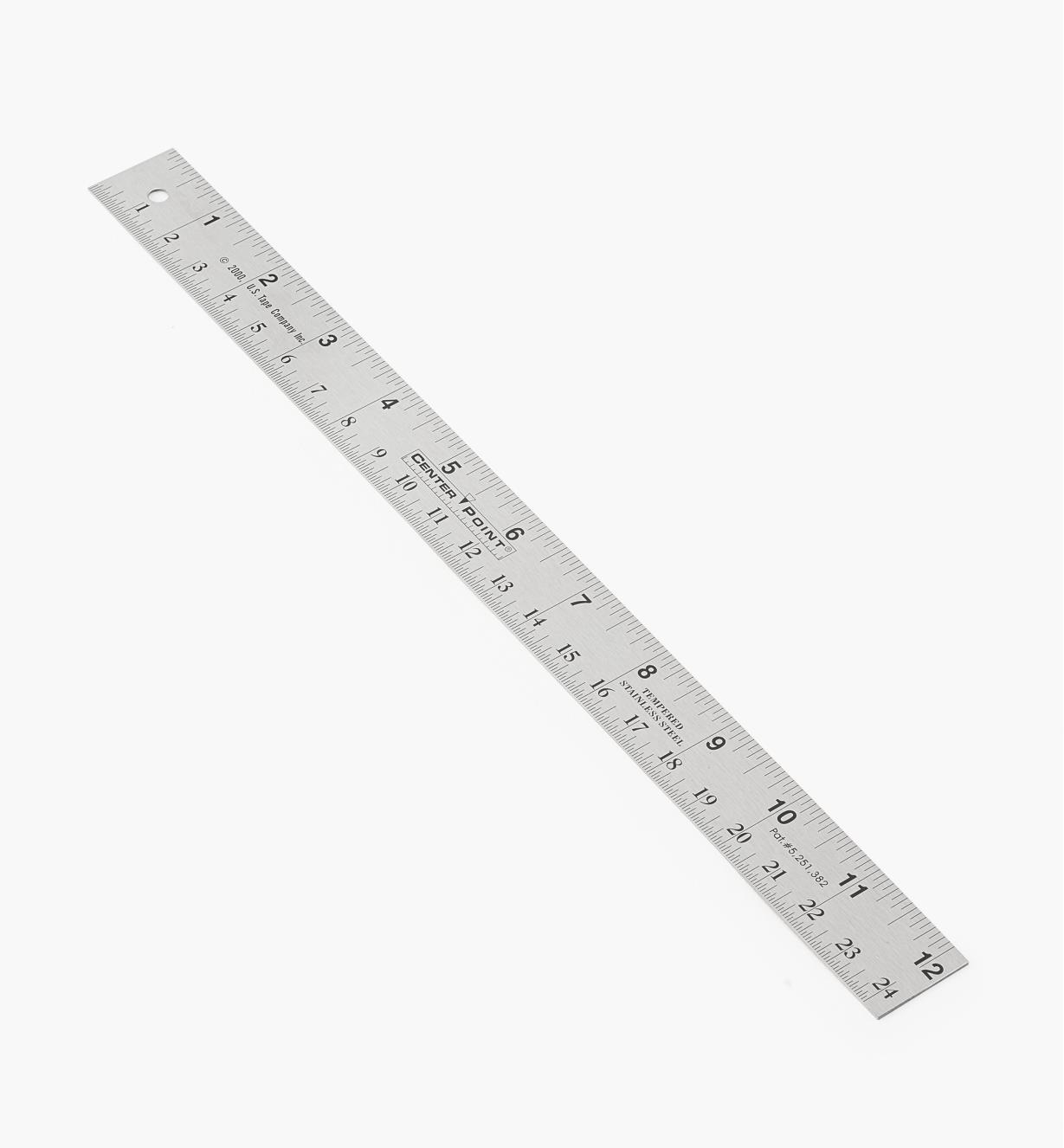 "60N4602 - 12"" Center Point Rule"