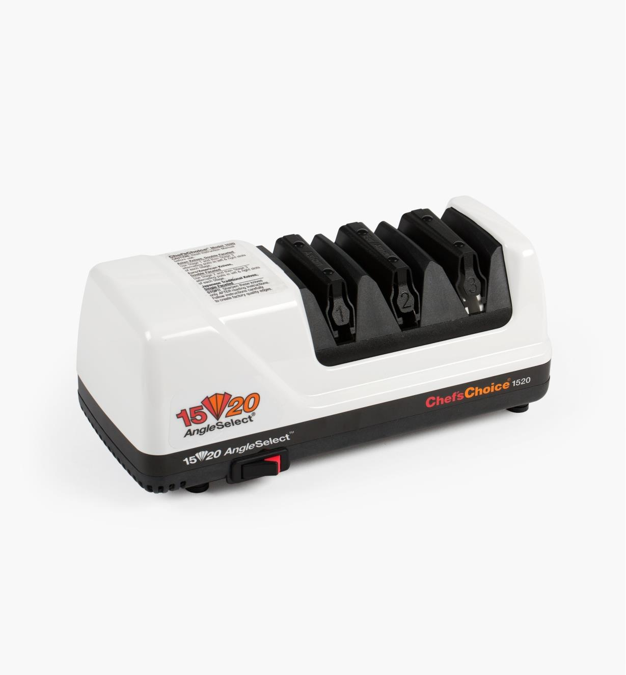 70M4607 - Chef'sChoice 15°/20° Dual Knife Sharpener, Model 1520