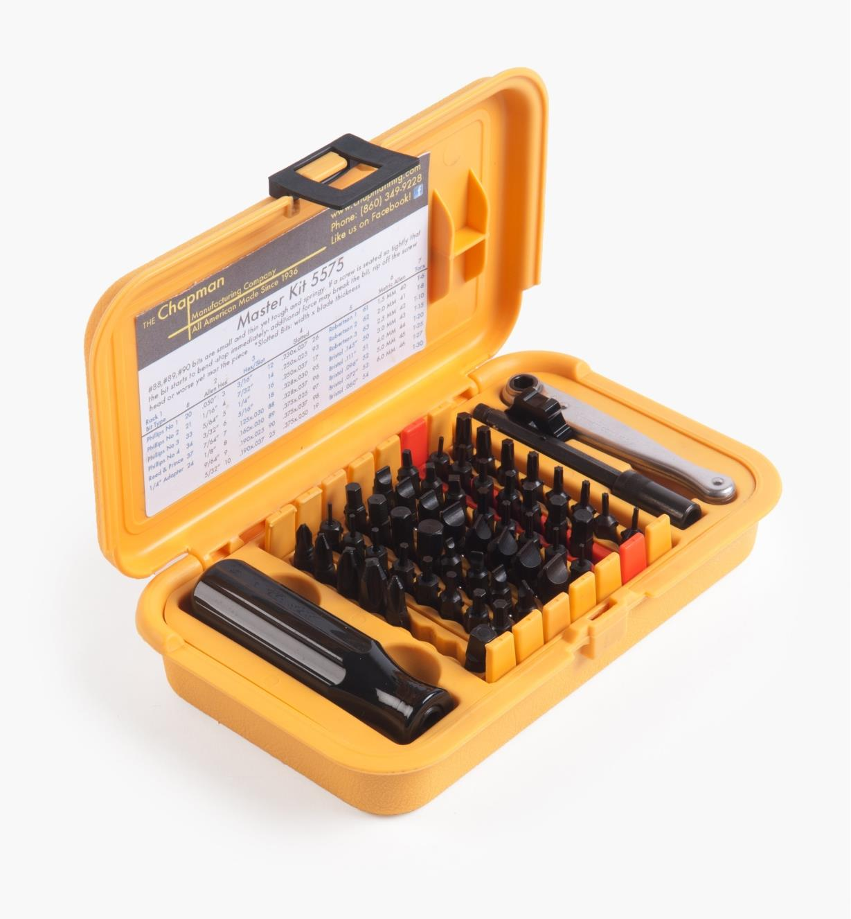 88K2010 - Chapman Master Ratchet & Screwdriver Set