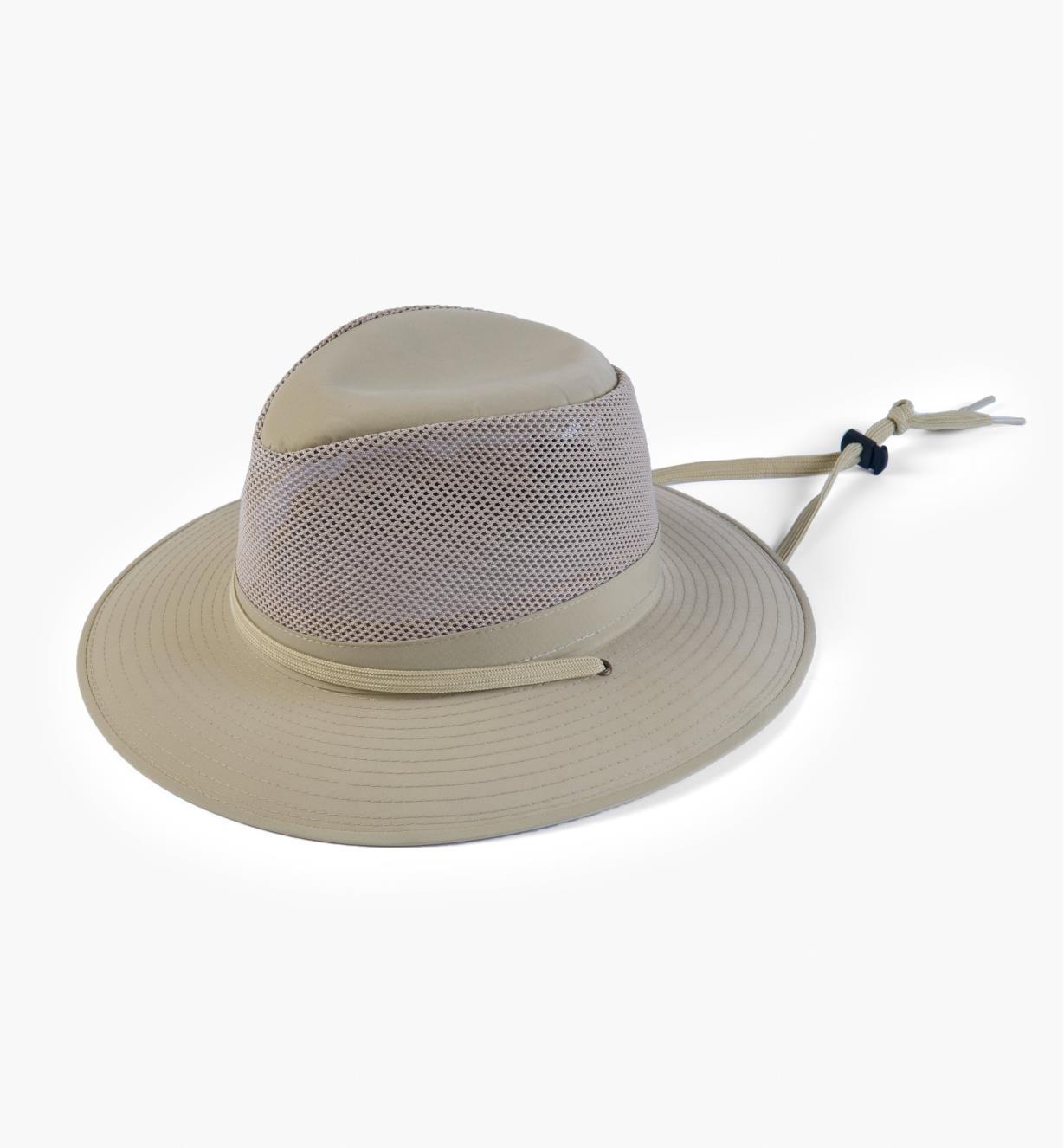 HL530 - Beige Breezer Hat, Sm.
