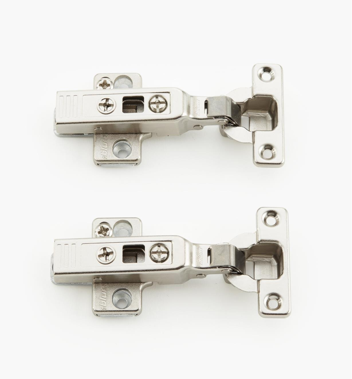 00B1400 - 94° Overlay Clip Mini Hinges, pr.