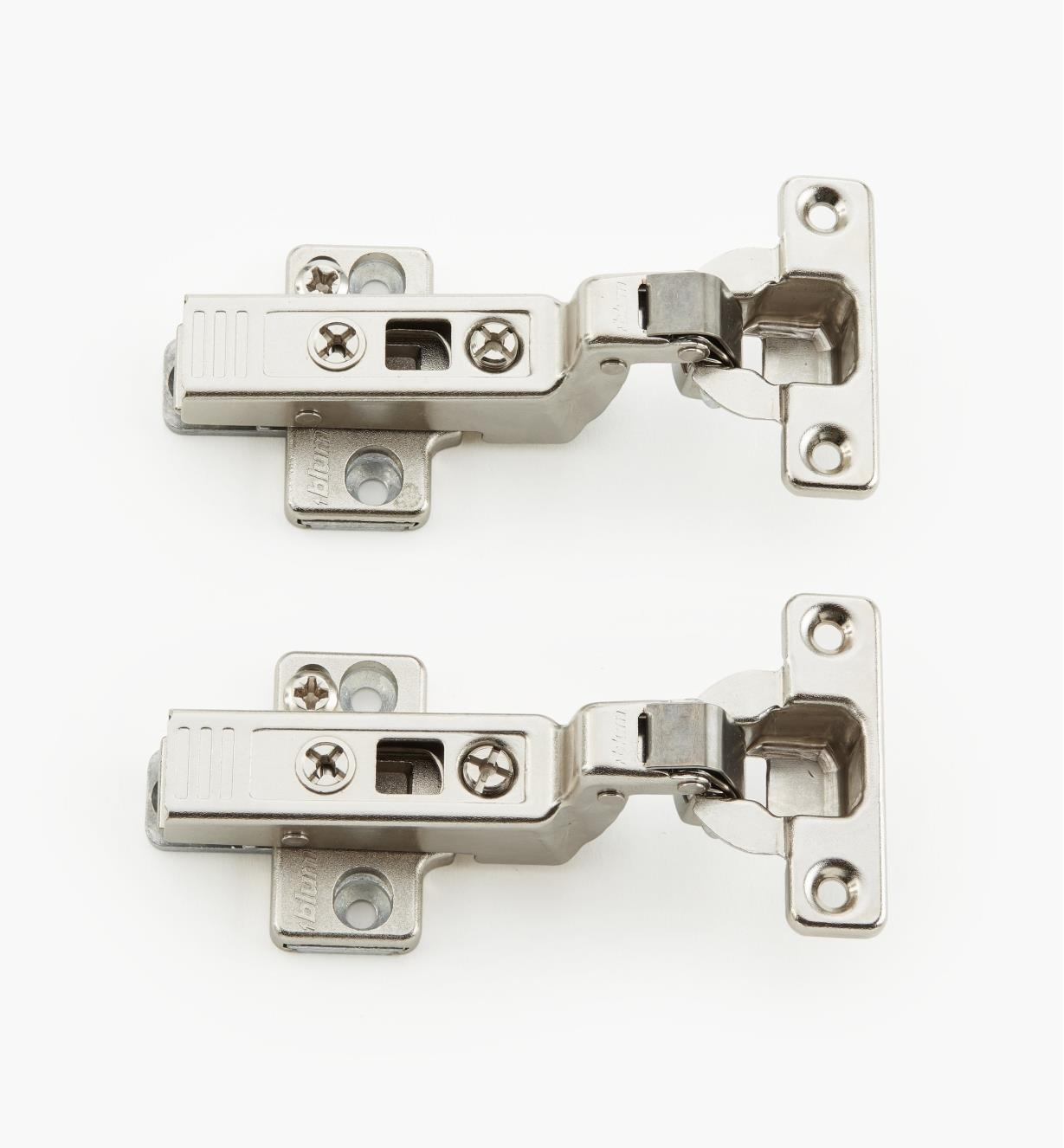 00B1404 - 94° Inset Clip Mini Hinges, pr.