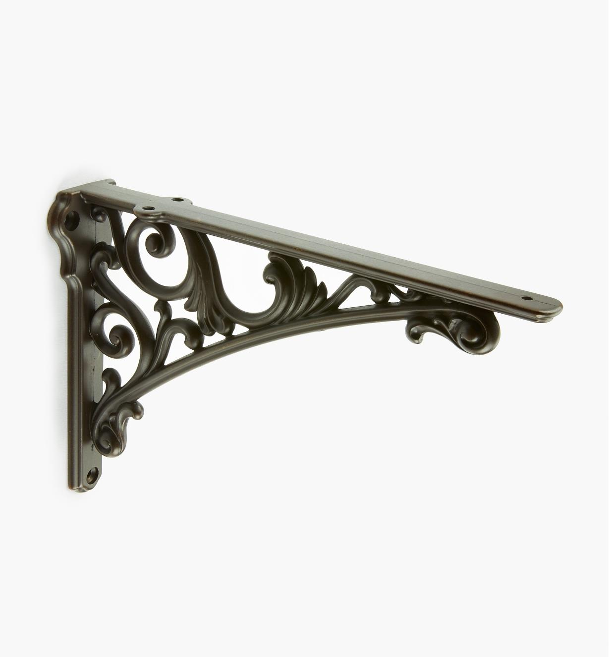 00S2870 - Classico Dark Bronze Shelf Bracket, each