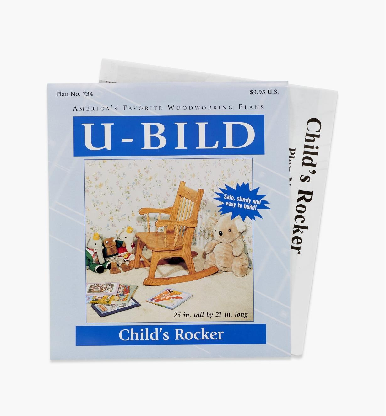 11L0266 - Child's Rocker Plan